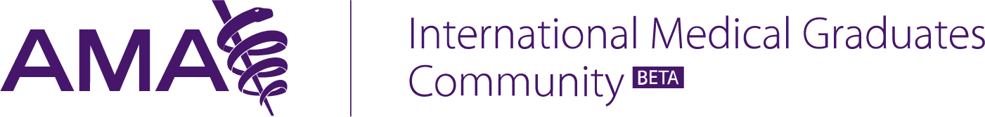 AMA International Medical Graduates Community Logo